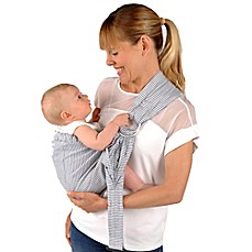 image of Balboa Baby® Dr. Sears Adjustable Sling Baby Carrier in Ticking