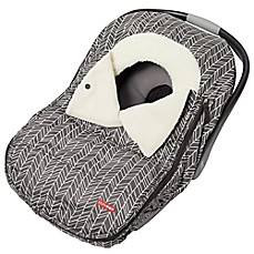 image of SKIP*HOP® Stroll & Go Universal Car Seat Cover in Feather Grey