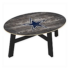 NFL Dallas Cowboys Distressed Wood Coffee Table