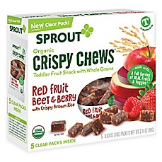 image of Sprout® 3.15-Ounce Box Crispy Fruit & Veggie Chews in RedBerry & Beet