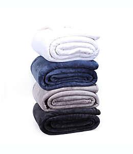 Frazada matrimonial/queen de poliéster Berkshire Blanket® Luxury PrimaLush color gris ceniza