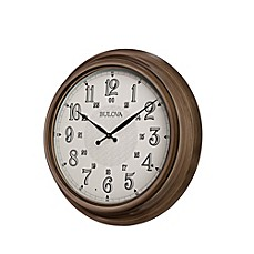 image of Bulova Key West Indoor/Outdoor Wall Clock