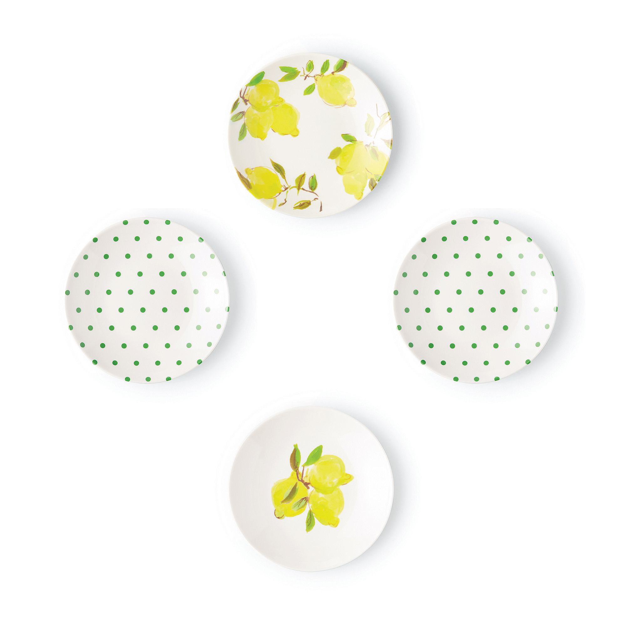 Kate Spade Lemon dishes