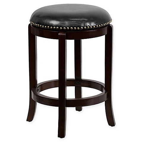 Flash Furniture 25 Inch Wood Bar Stool