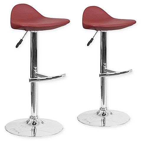 Buy Flash Furniture Vinyl Adjustable Bar Stools In