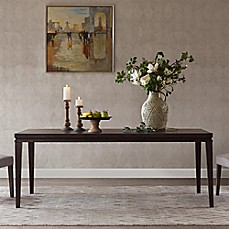 image of Madison Park Hathaway Dining Table in Walnut