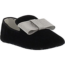 image of Stuart Weitzman Loafer with Bow in Black