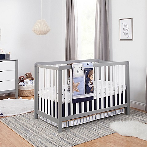 carter's® by DaVinci® Colby Crib Furniture Collection in Grey/White