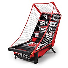 image of Sharper Image® Launch Pad Tabletop Basketball Game