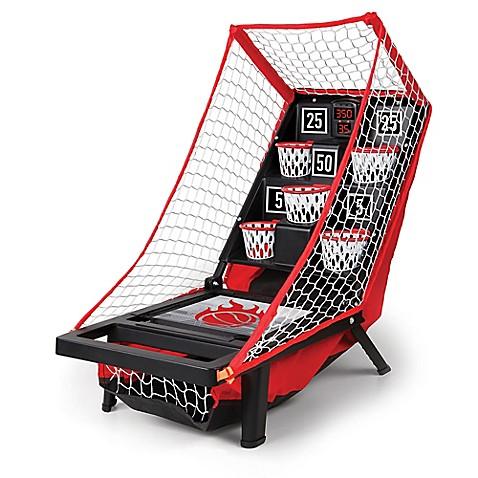 Sharper Imageu0026reg; Launch Pad Tabletop Basketball Game