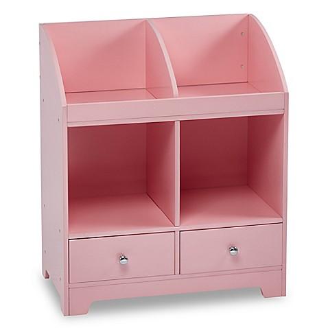 Teamson Kids Cubby Storage In Pink