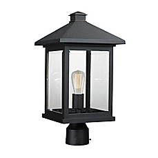 image of Quiana Outdoor Lantern Collection  in Black