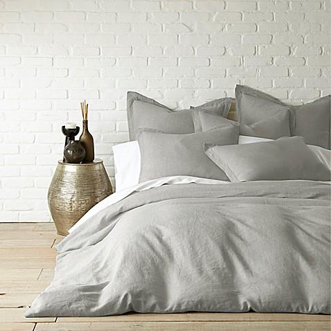 Buy Levtex Home Washed Linen Queen Duvet Cover In Light