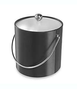 Cubeta para hielos de vinilo Oggi™, en negro