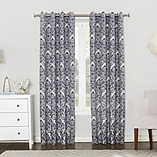 Sun Zero Clora Grommet Top Room Darkening Window Curtain Panel