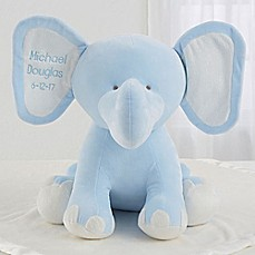 image of Blue Plush Elephant