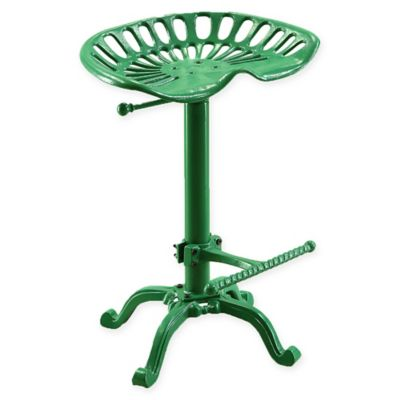 image of Carolina Cottage Hunter Adjustable Tractor Seat Stool