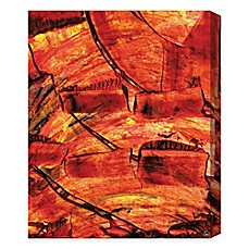 Red Wall Art abstract wall art - bed bath & beyond