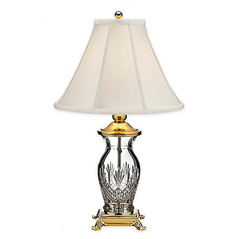 Waterfordr killarney 26 inch table lamp with fabric shade for 7 inch table lamp shades