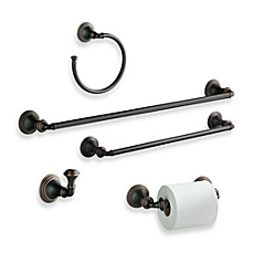 image of Kohler® Devonshire Oil Rubbed Bronze Bath Hardware