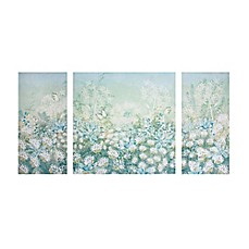 image of Spring Meadow 3-Piece Printed Canvas Wall Art