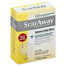 image of ScarAway® 30-Count Clear Daily Silicone Scar Discs