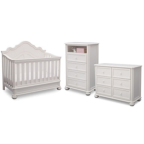 Simmons Kids® Peyton Nursery Furniture Collection in Antique White - Simmons Kids® Peyton Nursery Furniture Collection In Antique White