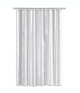 Forro para cortina de baño  transparente de PEVA con peso pesado SALT, 1.37 x 1.98 cm