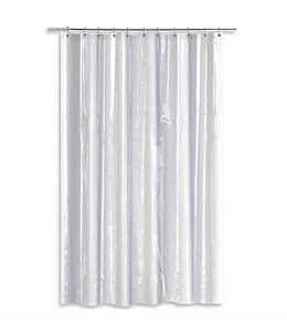 Forro para cortina de baño  transparente de PEVA con peso pesado SALT, 1.77 x 2.13 m