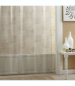Forro para cortina de baño  transparente de PEVA SALT, 1.77 x 1.82 m