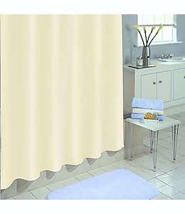 Forro para cortina de baño de PEVA  SALT, 1.77 x 1.82m color lino