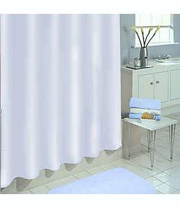 Forro para cortina de baño de PEVA  SALT, 1.77 x 1.82 m color blanco