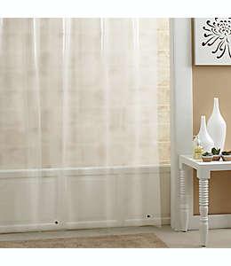 Forro para cortina de baño de PEVA  SALT, 1.77 x 2.13m color gris escarchado