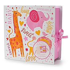 image of Tri-Coastal Design Animal Keepsake Box Book in Pink