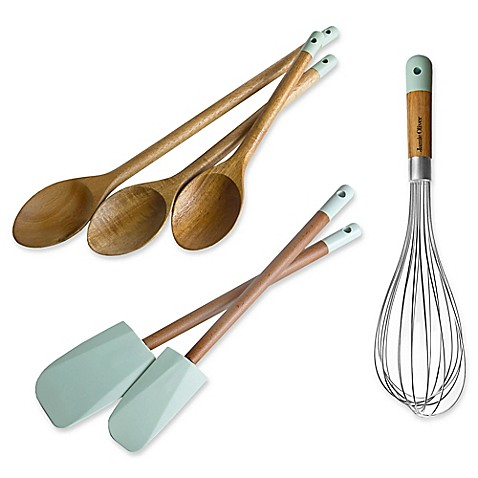 Jamie Oliver Baking Collection in Natural/Blue