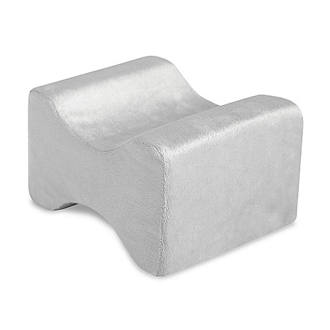 Therapedic Memory Foam Spinal Alignment Pillow in Grey - Bed Bath & Beyond