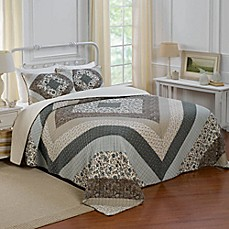 image of Nostalgia Home™ Patrice Bedspread in Brown