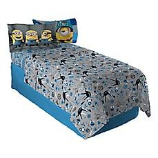 minion bathroom set. image of Minions Despicable Me Follow Mel Sheet Set Kids  Teen Bedding Bed Bath Beyond