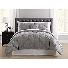 image of Truly Soft Arrow Pleated Comforter Set