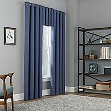 image of Copley Square Grommet Top Blackout Window Curtain Panel and Valance