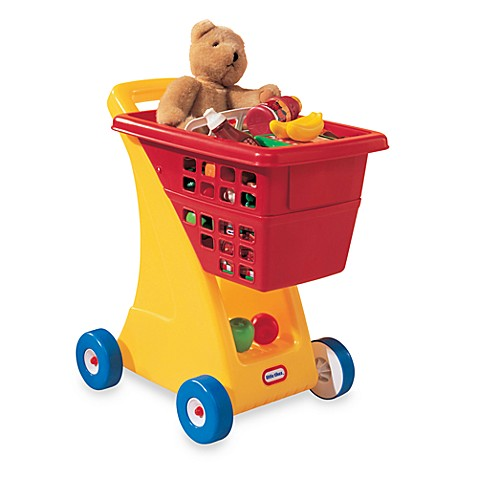 Little Tikes Shopping Cart With Food