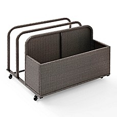 image of Crosley Palm Harbor Outdoor Wicker Float Caddy