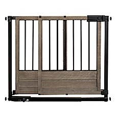 image of HOMESAFE™ by Summer Infant® Rustic Home Safety Gate in Black