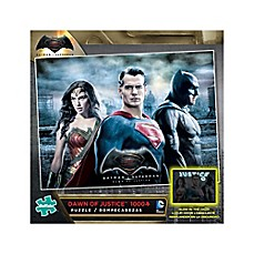 image of Dawn of Justice Glow-in-the-Dark 1000-Piece Jigsaw Puzzle