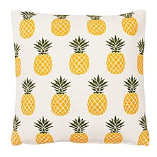 image of thro by mario lorenz priya pineapple throw pillow - Tropical Decor