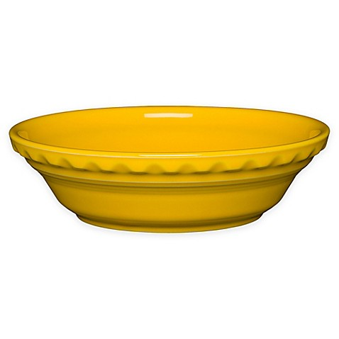 Fiesta 174 Small Pie Plate In Daffodil Bed Bath Amp Beyond