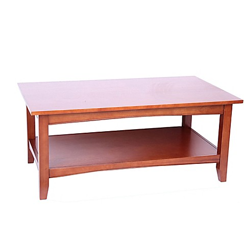 Buy Shaker Cottage Coffee Table In Cherry From Bed Bath Beyond
