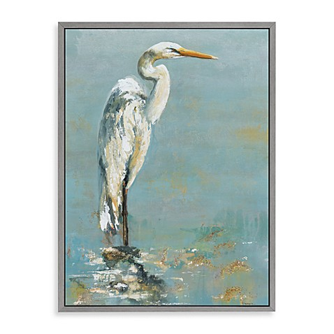 Heron Canvas Wall Art