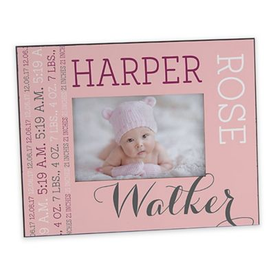 Personalized Baby Picture Frames & Photo Albums | Engraved Picture ...