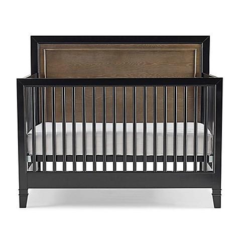 buy smartstuff myroom convertible crib in light brown black from bed bath beyond. Black Bedroom Furniture Sets. Home Design Ideas